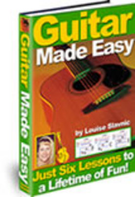 Product picture Guitar Made Easy Learn To Play Like A Pro in just6 lessons